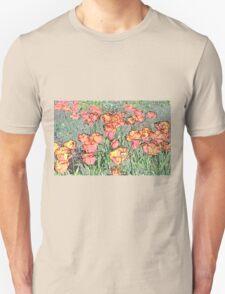 Pastel Tulips T-Shirt