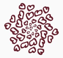 Ring of Hearts Kids Tee