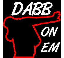 Dabb On Em Photographic Print