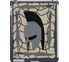 Spartan Helmet and Swords iPad Case/Skin