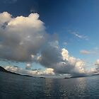 Morning clouds (smiling horizon version) by Alexey Dubrovin