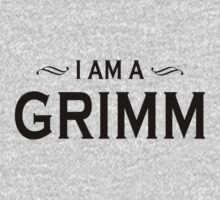 I Am A Grimm Black by waywardtees