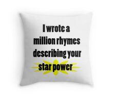 Stay Ready (What a Life) Lyrics Highlight 2 Throw Pillow