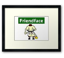 The IT Crowd – Friendface – Catch Up with Old Friends Framed Print