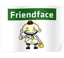 The IT Crowd – Friendface – Catch Up with Old Friends Poster