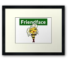 The IT Crowd – Friendface – Maybe Find That Special Someone Framed Print