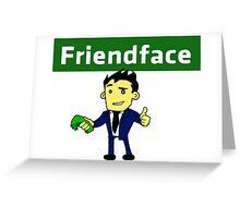 The IT Crowd – Friendface – Meet New Friends Greeting Card
