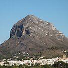 Montgo the Elephant Mountain, Javea Spain by Pamela Jayne Smith