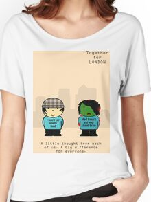 TFL Together For London Zombie Version Women's Relaxed Fit T-Shirt