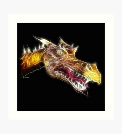 Shades of Myth™- The Dragon Art Print