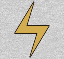 Lightning Bolt Logo Emblem Kids Clothes