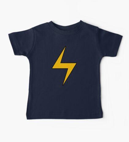 Lightning Bolt Logo Emblem Baby Tee