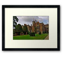 Charlecote Park hdr Framed Print