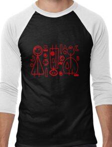 Children Graphics - red design Men's Baseball ¾ T-Shirt