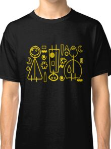 Children yellow graphic design Classic T-Shirt
