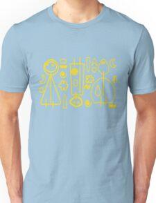 Children yellow graphic design Unisex T-Shirt