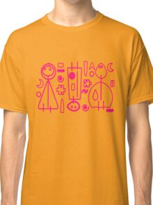 Children Pink Graphic Design Classic T-Shirt