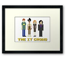 The IT Crowd – Roy, Moss, Jen and Douglas Framed Print