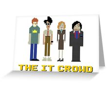 The IT Crowd – Roy, Moss, Jen and Douglas Greeting Card