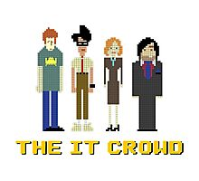 The IT Crowd – Roy, Moss, Jen and Douglas Photographic Print