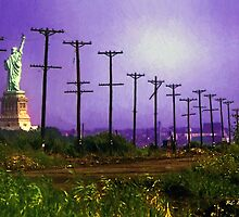 Lady Liberty Lost by RC deWinter