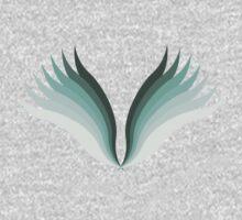 Wings One Piece - Short Sleeve