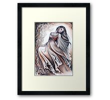 Dancing elven lady Framed Print
