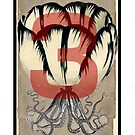 Dada Tarot- 3 of Cups by Peter Simpson