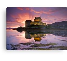 Scotland: Eilean Donan Castle Metal Print