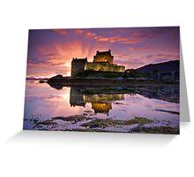 Scotland: Eilean Donan Castle Greeting Card