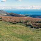 North Barrule and Maughold Head from Snaefell by WatscapePhoto