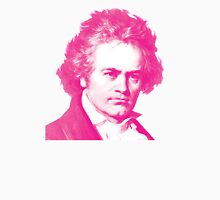 Magenta Beethoven! Long Sleeve T-Shirt
