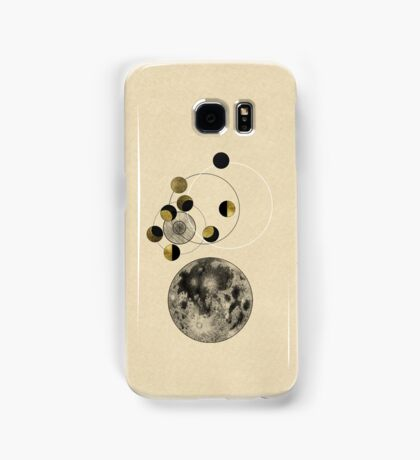 Phases of the Moon Samsung Galaxy Case/Skin