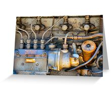 Engine Greeting Card