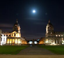 The University of Greenwich by NILPhotography