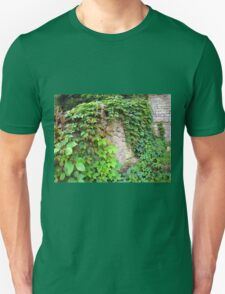 Wet and green shoots of wild grapes T-Shirt