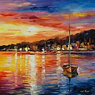 SUNRISE - LEONID AFREMOV by Leonid  Afremov