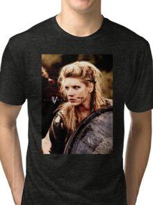 lagertha lothbrok 2 Tri-blend T-Shirt