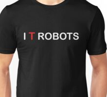 The IT Crowd – I T Robots (White) Unisex T-Shirt