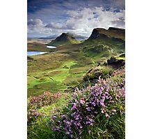 Scotland: My Bonny Heather Photographic Print