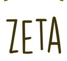 Floral Zeta Sticker