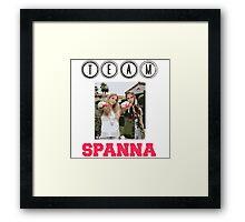 Team Spanna Framed Print