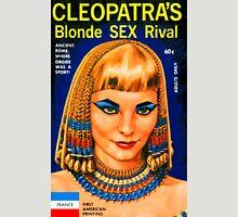 Cleopatra's Blonde Sex Rival Vintage Bookcover Unisex T-Shirt