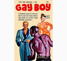Gay Boy Vintage Bookcover Unisex T-Shirt