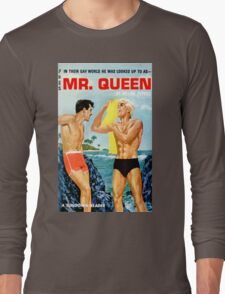 Mr. Queen Vintage Bookcover Long Sleeve T-Shirt