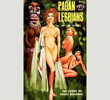Pagan Lesbian Vintage Lurid Bookcover Unisex T-Shirt