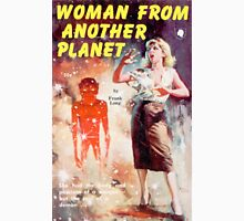 Woman From Another Planet Vintage Lurid Bookcover Unisex T-Shirt