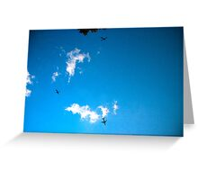 NYC skyscape Greeting Card