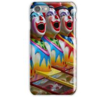 Laughing Clowns iPhone Case/Skin
