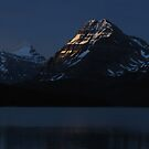 at Bow Lake 10 by Brett Hanavan